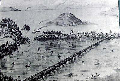 初秋の肥前歴史短訪             ④唐津城下町の水辺今昔